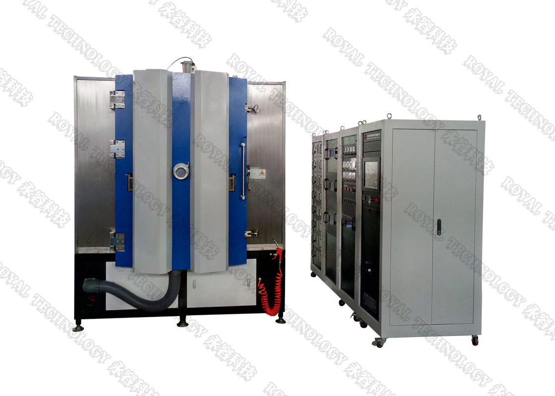 DC and MF Magnetron Sputtering Deposition System, Copper sputtering, Au gold vacuum coating machine